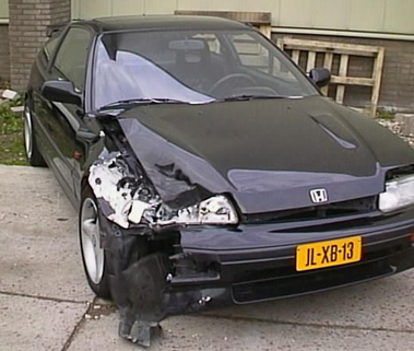 Honda Crash Netherlands