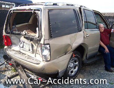 Lincoln Navigator Accident: Rear Ended by Sleeping Driver Maryland