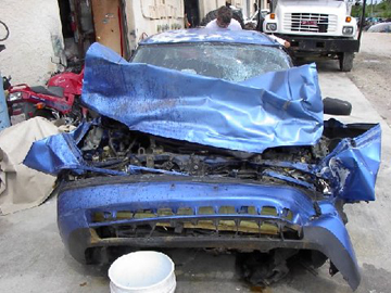 Ford Probe Wrecked