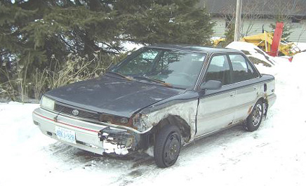 Toyota Corolla Crash