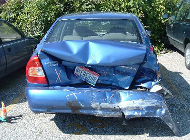 Hyundai Accent GL Accident
