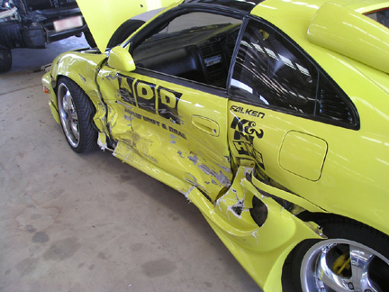 Toyota Mr2 Crash