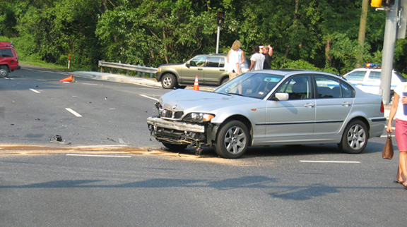 Bmw 325 ix Accident