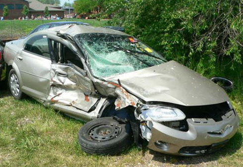 Chrysler Sebring Accident