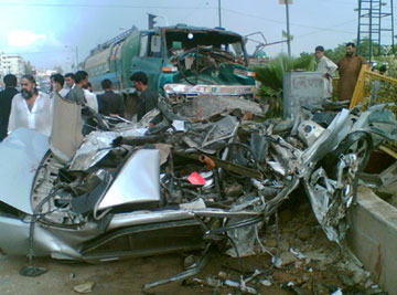 Pakistan fatal accident