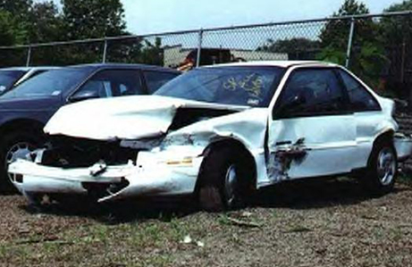 Chevy Beretta Crash