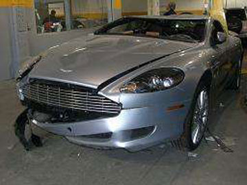 Aston Martin on Aston Martin Accidents  Pictures  Photo  Db7  Db9  Vantage