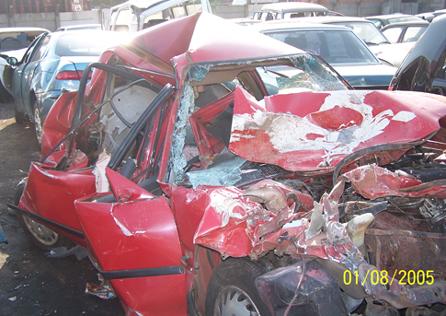 bad car wreck