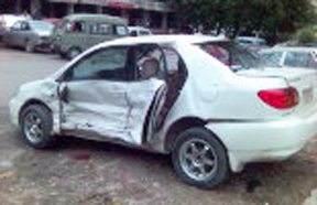 Accident Photos Man Pictures of Honey Singh Graphic Image