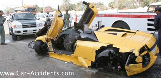 Lamborghini Murcielago Accident Crash Pictures Pics Photos
