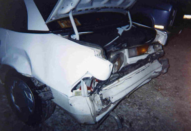 Ford Tempo Car Accident