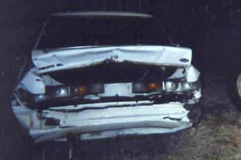 Ford Tempo Hit By Ford Ranger