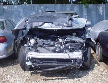 Nissan Murano Chevy Failed To Yield Carrollton Texas