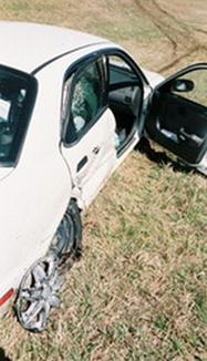 Suzuki Car Wreck Accident Salena, Kansas