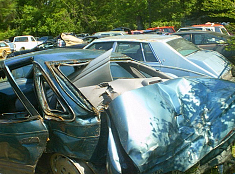 Ford Taurus Wreck