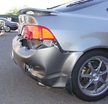 Acura RSX Accident
