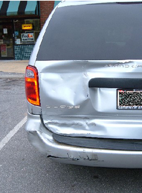 Dodge Grand Caravan Accident Asheville, NC