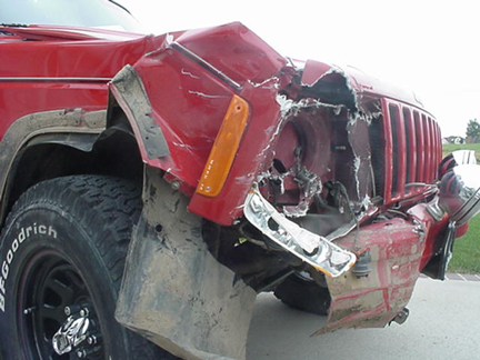 Jeep Cherokee Crash