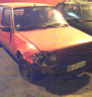 Renault 5 Crash Belgrade, Serbia