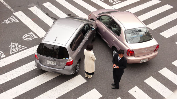 Japan car crash picture