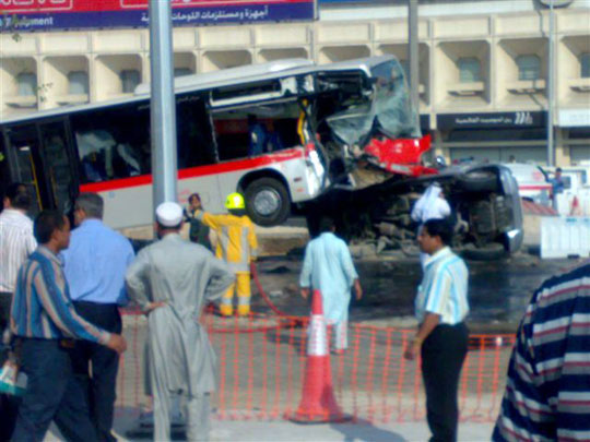 UAE fatal crash