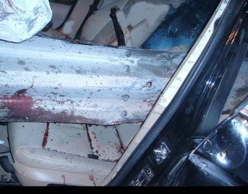 Bdriver died impaled by guardrail dubai united arab emirates