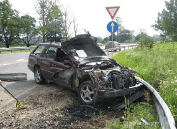 Latvia Crash Accidents Driving Road Car Riga Auto