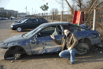 Lithuania car crash photo