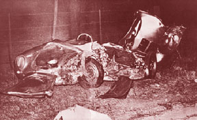 James Dean crash