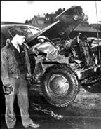 Patton Car crash Accident