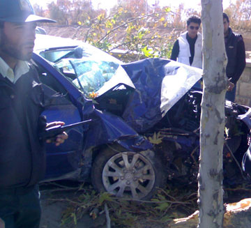Iran car accidents