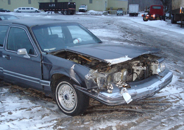 Lincoln Accidents Crash Lincoln Town Car Continental Ls