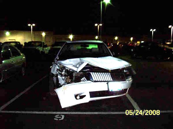 Granite City Car Wreck