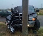 Dodge Ram 1500 Crash