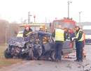 Opel Crash Fatal