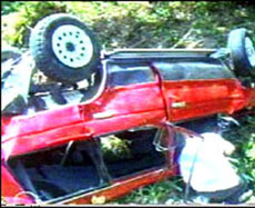 Lisa Lopes crash