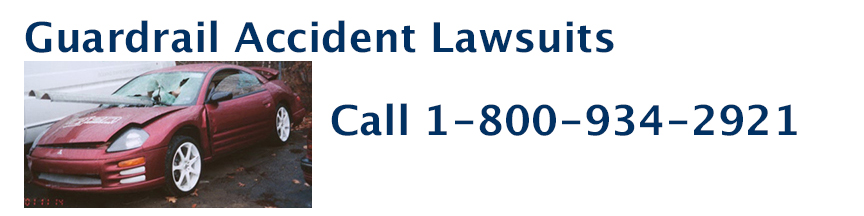 Guardrail accident Lawsuit