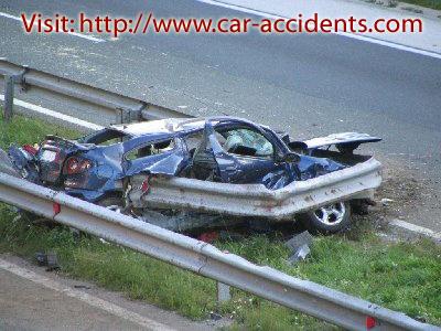 Tire Blowout Auto Accident: Location: highway Postojna-Ljubljana