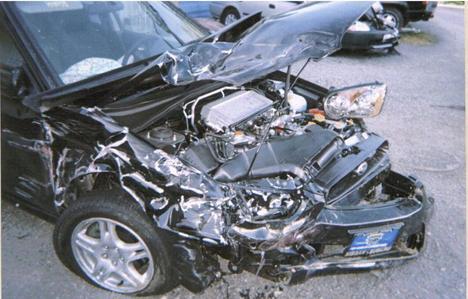 Auto Racing Accidents on Racing Accident  Subaru 04 W R X  Impreza Longbranch  Wisconsin