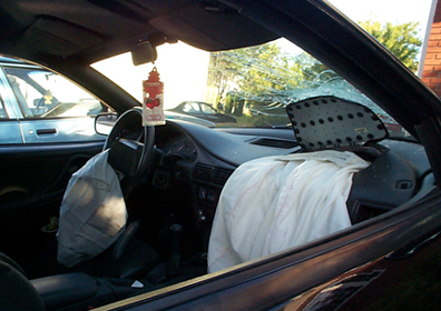When Do Airbags Deploy In An Accident >> Airbags Deployed In Chevy Crash New Brunswick Canada