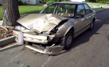 Saturn California Auto Accident