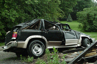 Ford Explorer Crash Pictures