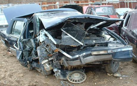 Cadillac Car cRash IndianaWell, I never realised how lucky my ...