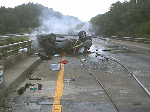 Rollover Crash: Kentucky Car Accident From Car Accidents com