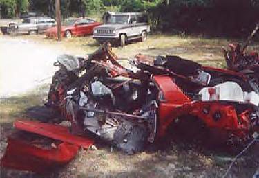 Auto Racing Accidents on Totaled 1997 Pontiac Trans Am Find Auto Accident Lawyers Click Here