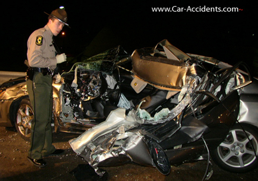 Drunk Driving Accidents: Fatal Crash: Pictures and Photos
