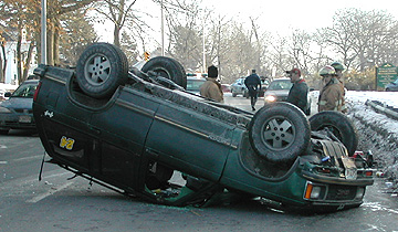 Rollover Crash MASS Roads
