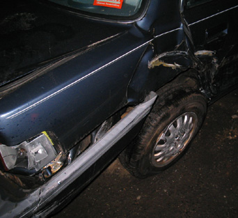 Honda Civic Wrecked MD