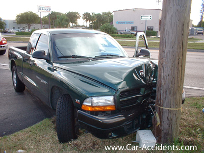 Dodge Dakota Accident