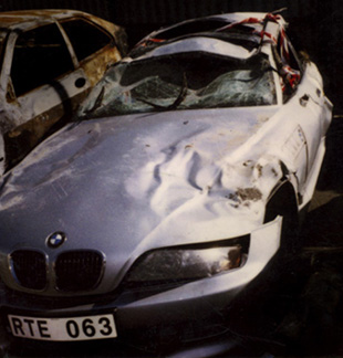 BMW Z3 Crash Accident Pics